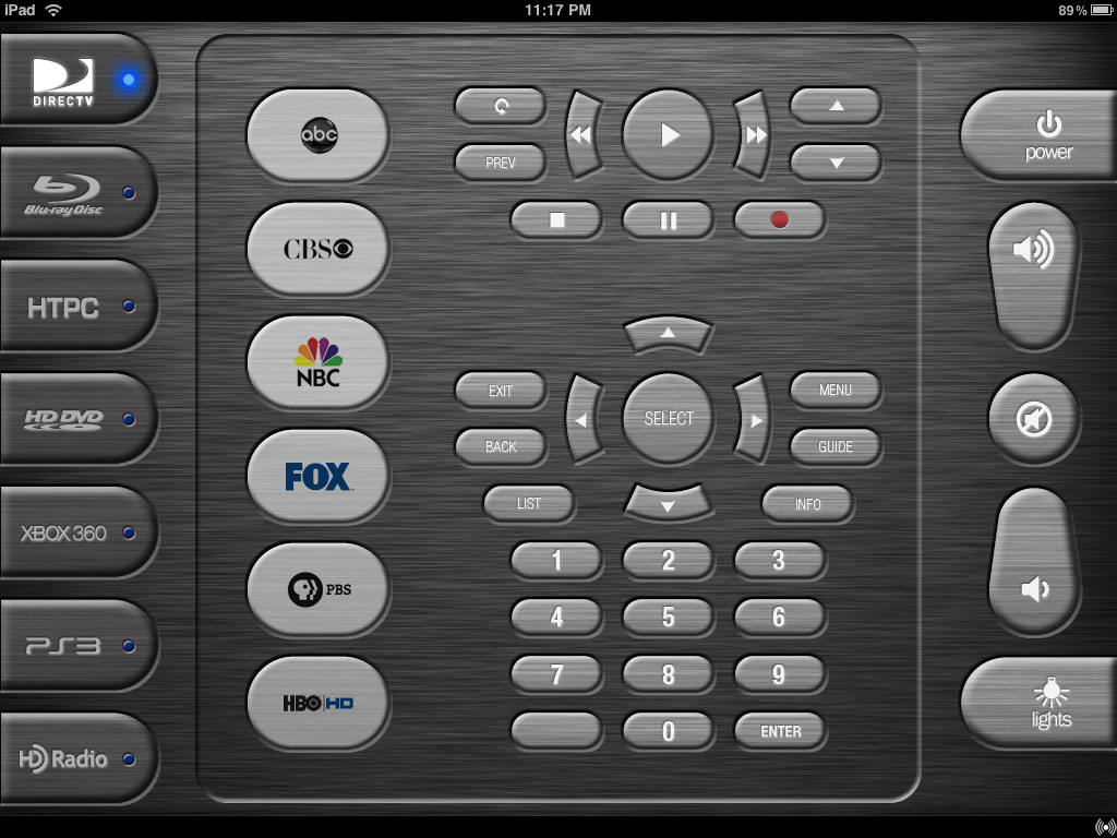 iRule - The iPhone/iPod touch/iPad remote solution